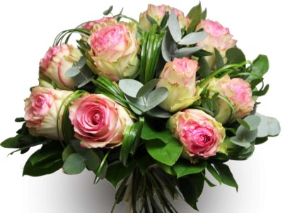 Gerbe de roses funeraires bouquet de roses enterrement for Bouquet de roses blanches