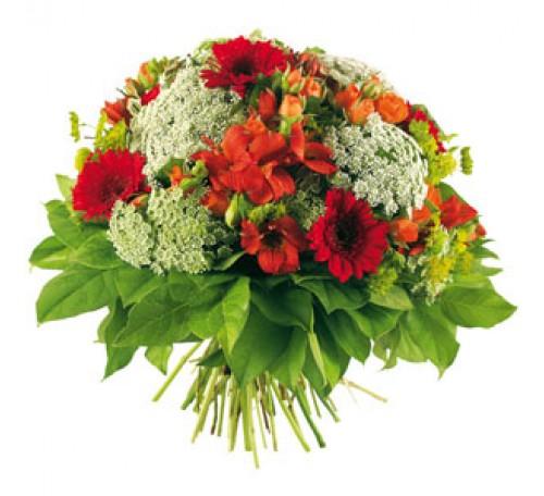 Bouquet Rond Melun Bouquet Fleurs Deuil Livraison Fleurs