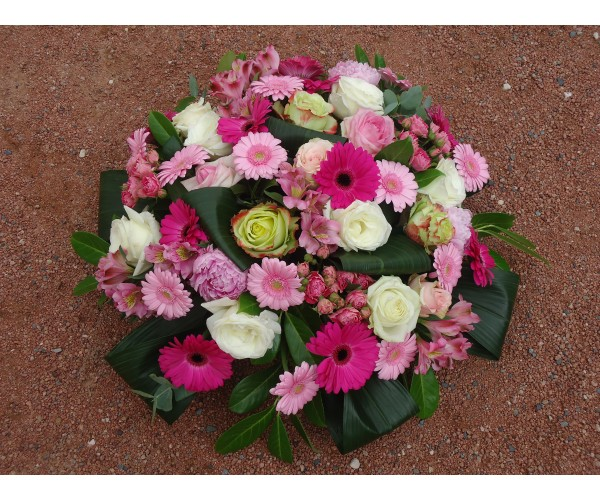 123couronne de fleurs envoi couronne de fleurs deuil for Envoi fleurs deuil