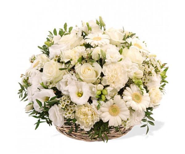 Fleurs deuil florafrance for Envoi fleurs deuil
