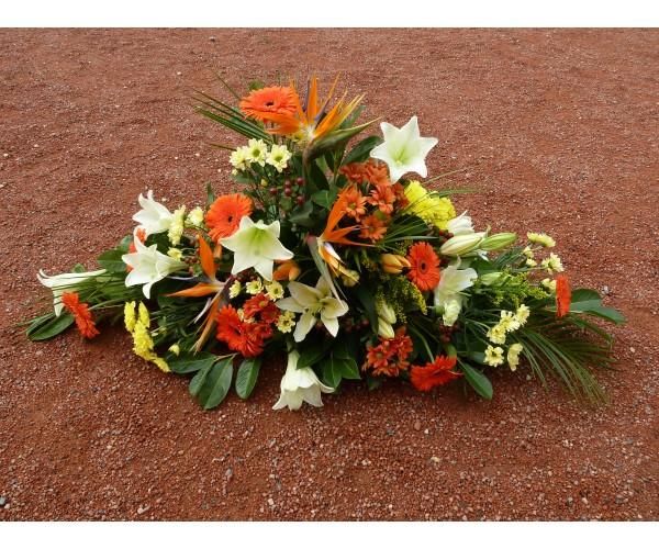 devant de cercueil devant de caveau devant de tombe envoyer des fleurs deuil paris florafrance. Black Bedroom Furniture Sets. Home Design Ideas