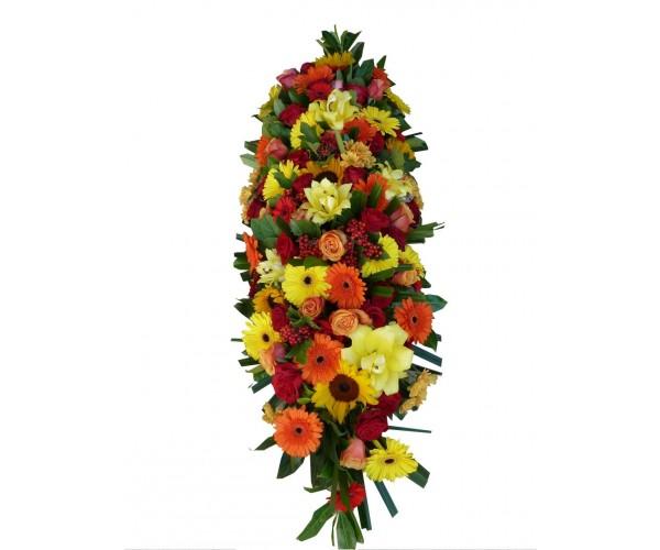 envoyer une gerbe d c s paris couronne fleurs nice gerbe fleurs grenoble gerbe la tronche. Black Bedroom Furniture Sets. Home Design Ideas