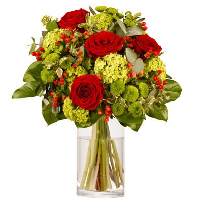 Envoi de roses rouges pour la saint valentin florafrance for Envoi bouquet