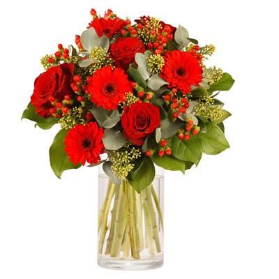Envoi De Roses Rouges Pour La Saint Valentin Florafrance