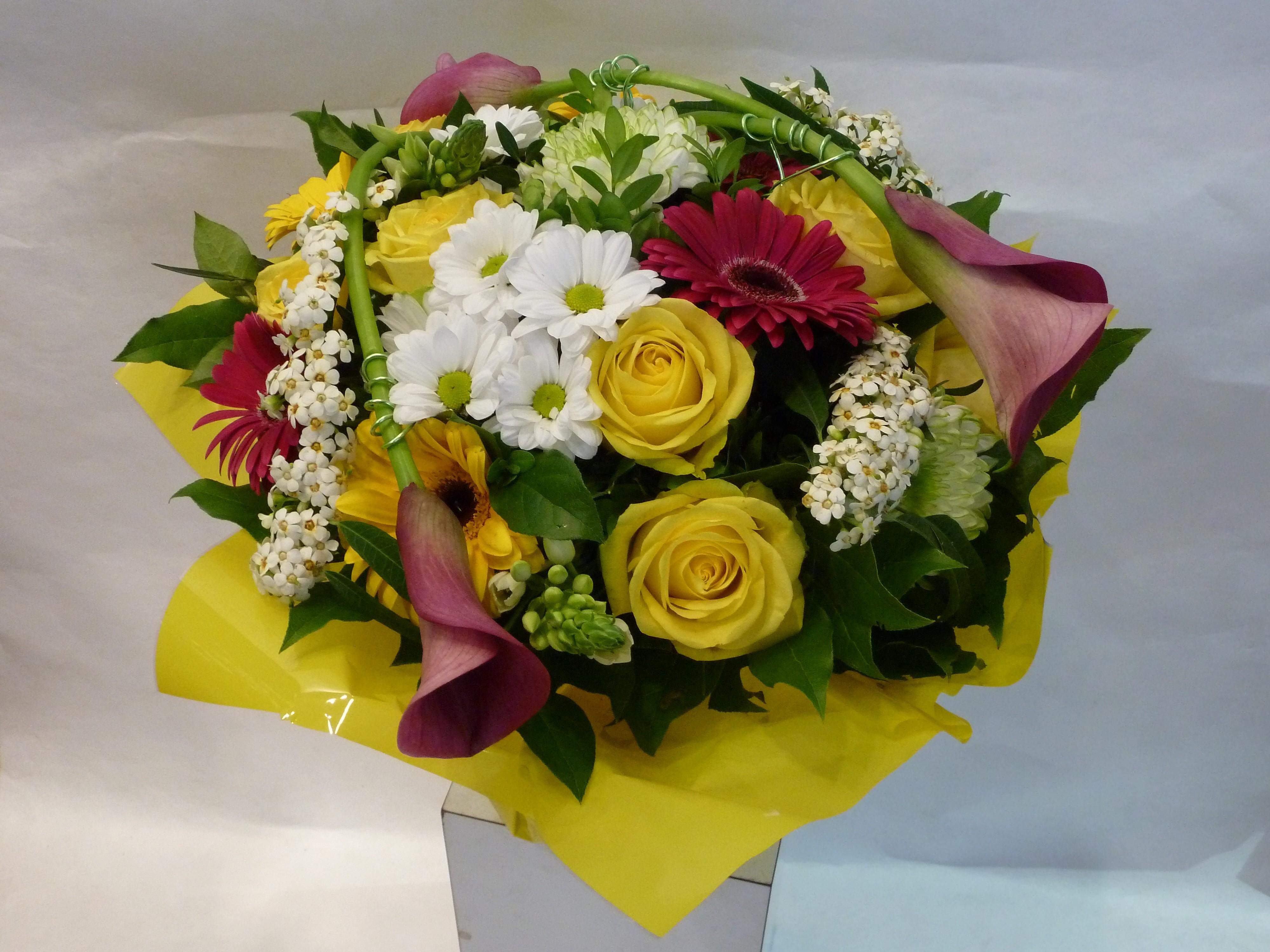 Bouquet d c s en bulle d 39 eau livraison de bouquet de for Bouquet de fleurs 6 lettres