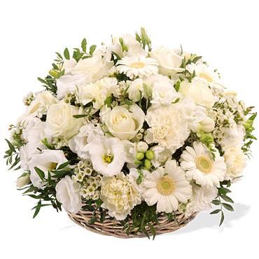Paris 75020 cimeti re de charonne couronne de fleurs for Envoi fleurs deuil