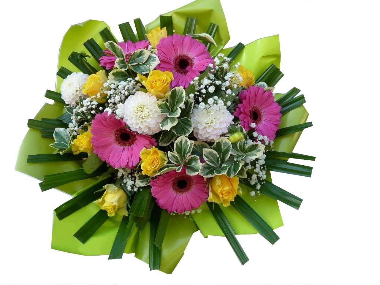 Bouquet Rond De Fleurs Limas 69400 Envoi De Fleurs
