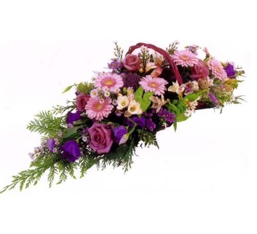 gerbe fleurs crématorium  de Valenton