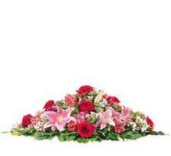 raquette fleurs crématorium Lyon Berthelot