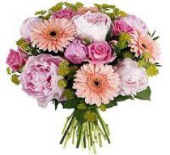 Bouquet rond pivoine