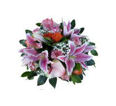 fleurs deuil Bron