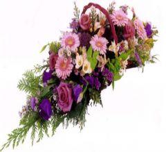 vannerie de fleurs Père Lachaise